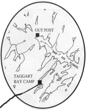 Image of road to Taggart Bay Camp